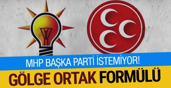 AK PARTİ MHP İTTİFAKINDA FLAŞ GELİŞME! 'GÖRÜNMEZ ORTAK'…