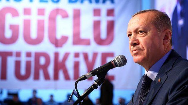"""CUMHURBAŞKANI ERDOĞAN """"ÜMRANİYE'MİZDEKİ 2B ARAZİLERİNİN TAPUSUNU…"""""""