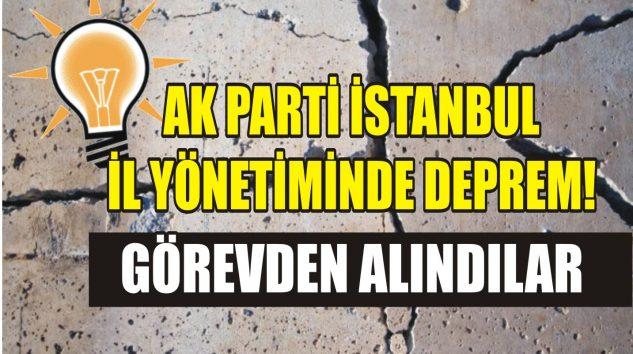 AK PARTİ İL YÖNETİMİNDE DEPREM!