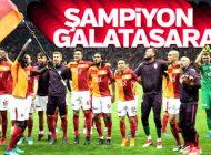 2017-2018 ŞAMPİYONU GALATASARAY