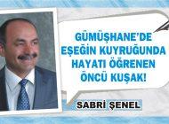 GÜMÜŞHANE'DE EŞEĞİN KUYRUĞUNDA HAYATI ÖĞRENEN ÖNCÜ KUŞAK!