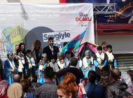 """ŞİLE'DE """"SOKAKTA ŞENLİK  VAR ANNE"""" ETKİNLİĞİNE YOĞUN İLGİ!"""