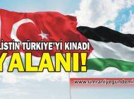 MAL BULMUŞ MAĞRİBİ KOROSU VE AKP'Lİ TROLLER FİLİSTİN YALANINA SARILDI