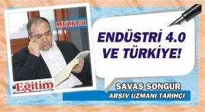 ENDÜSTRİ 4.0 VE TÜRKİYE