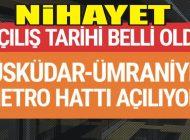 NİHAYET AÇILIŞ TARİHİ BELLİ OLDU!
