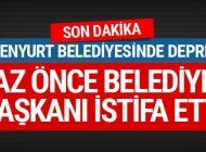 ESENYURT BELEDİYE BAŞKANI İSTİFA ETTİ