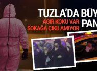 TUZLA'DA KİMYASAL SIZINTI PANİĞİ!