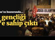 SP İSTANBUL GENÇLİK KOLLARI, İİT KARARINI PROTESTO ETTİ