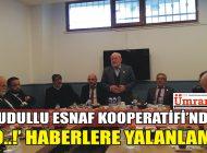 DUDULLU ESNAF KOOPERATİFİ'NDEN 'O..!' HABERLERE YALANLAMA