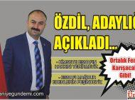 MEHMET ÖZDİL, DUDULLU ESNAF KOOPERATİFİ'NE ADAYLIĞINI AÇIKLADI