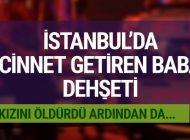 İSTANBUL'DA CİNNET GEÇİREN BABA DEHŞETİ