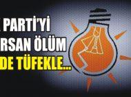 AK PARTİ'Yİ SARSAN ÖLÜM: TÜFEKLE İNTİHAR ETTİ!