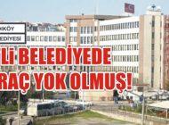 CHP'li KADIKÖY BELEDİYESİ'nde 27 ARAÇ YOK OLMUŞ!