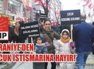CHP ÜMRANİYE 'ÇOCUK İSTİSMARINA HAYIR' DEDİ
