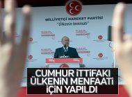 """DEVLET BAHÇELİ: """"MHP'yi BİTİRMEK İSTEDİLER"""""""
