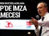 CHP'DE İMZA TARTIŞMASI! MUHALİFLERDEN AÇIKLAMA