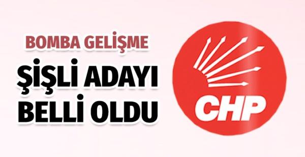 ŞİŞLİ BELEDİYE BAŞKAN ADAYI BELLİ OLDU!