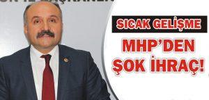 ERHAN USTA, MHP'DEN İHRAÇ EDİLDİ