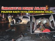 ÜMRANİYE'DE POLİSTEN KAÇAN OTOMOBİL 4 KİŞİYİ EZDİ!