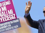ERDOĞAN'DAN SEÇİMLER ÖNCESİ 'SİSİ' BENZETMESİ!