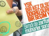 """ZARFLARDA """"MİLLETVEKİLİ SEÇİMİ"""" MÜHRÜ SKANDALI"""