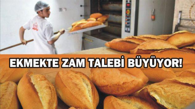 EKMEKTE ZAM TALEBİ BÜYÜYOR!