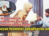 EVİNDEYSE HİZMETÇİ SOKAKTAYSA EMEKÇİ!