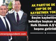 CHP'Lİ BELEDİYE BAŞKAN ADAYI HALK EKMEK A.Ş'NİN BAŞINA GETİRİLDİ